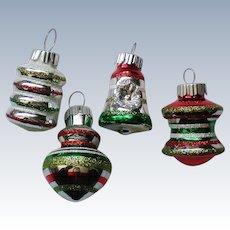 Radko Shiny Brite Miniature Christmas Holiday Ornaments