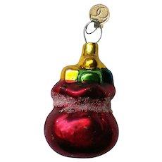 Department 56 Santa's Bag Christmas Tree Ornament