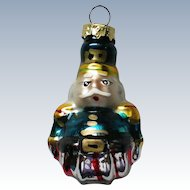 Vintage Mercury Class Miniature Nutcracker Christmas Tree Ornament