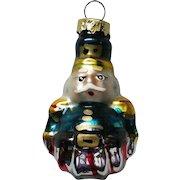 Vintage Mercury Class Miniature Nutcracker Christmas Tree Ornament