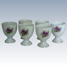 Porcelain Egg Cups – set of 6