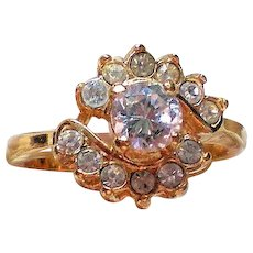 CZ Cocktail Ring