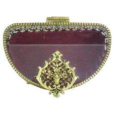 Ormolu Jewelry Casket or Dresser / Trinket Box