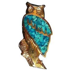 Owl Hat, Lapel or Tie Tack Pin