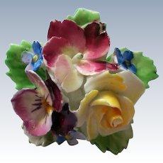 Fine English Bone China Floral Bouquet