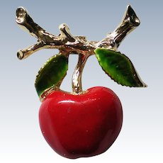 Apple for the Teacher Pin by Gerry's