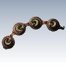 Chunky Copper Link Bracelet