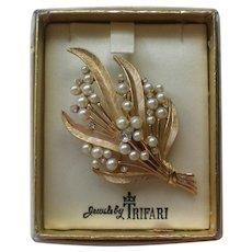Jewels by Trifari Brooch in Original Box