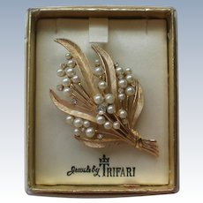 Jewels by Trifari Brooch in Original Box