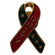 Patriotic UNITY Ribbon Hat or Tie Pin