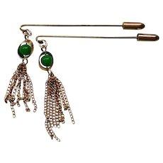 Dual Dangle Stick Pins
