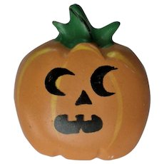 Jack-O-Lantern Pumpkin Pins for Halloween