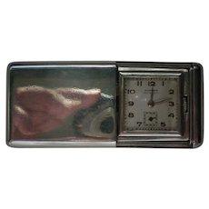 Sterling Silver Hidden Pocket Watch