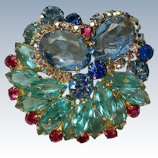 Fabulous Multi-Layered Brooch