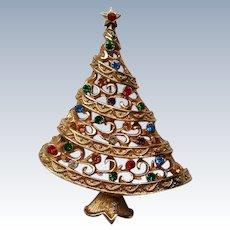 Christmas Tree Pin by JJ