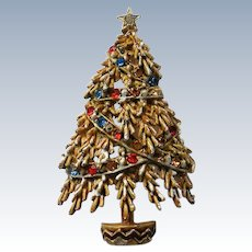 Garland Christmas Tree - Book Piece by ART