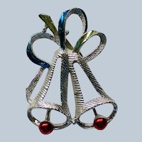Gerry's Open Bells Pin for Christmas