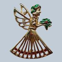 Christmas Angel Pin for the Holidays