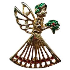 Christmas Angel Pin for the Holidays