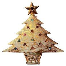 DeNicola Christmas Tree Holiday Pin