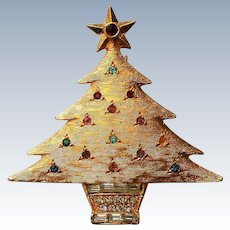 DeNicola Christmas Tree Holiday Pin