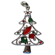 Christmas Tree Pendant Necklace for the Holidays