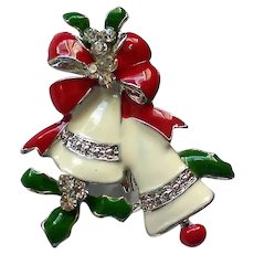 Holiday Bells Pin for Christmas Holidays