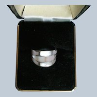 Sterling Silver MOP Inlay Ring
