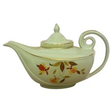 Hall Autumn Leaf Aladdin Jewel Tea Premium Teapot