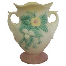 Hull Art Two Handled 6 Inch Vase