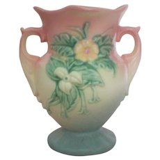 Hull Art Two Handled 6 Inch Vase