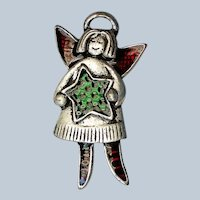 Christmas Angel Pin for the Winter Holidays