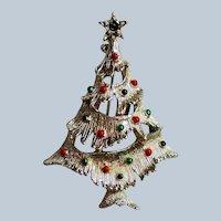 Book Piece Gerry's Christmas Tree Pin