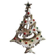 Book Piece Gerry's Christmas Tree Pin