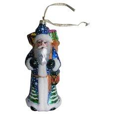 Large St. Nicholas Santa Christmas Tree Ornament