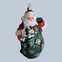 Santa Claus or St. Nick Ornament for the Christmas Tree
