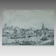 Wolfgang Tritt (1913-1983) Listed Artist Superb Etching
