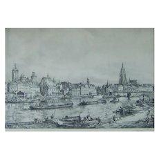 Wolfgang Tritt (1913-1983) Listed Artist Superb Etching