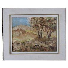 Pierre Cossette Lovely Landscape Oil Painting by Canadian Artist