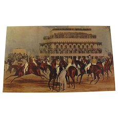 Famous Sporting Prints No 2 The Grand National 1927 by The Studio