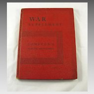 War Supplement Compton's Pictured Encyclopedia