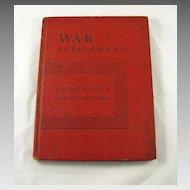 War Supplement Compton's Pictured Encyclopedia