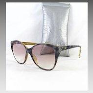Designer Christian Dior Optyl Germany Oversized Sunglasses