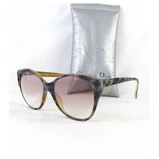 Designer Christian Dior Optyl Germany Oversized Sunglasses
