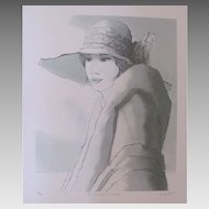 Bernard Modeste Wonderful Lithography by Listed Artist