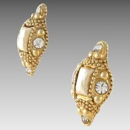 Runway Paris Alexis Lahellec Clip Earrings