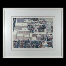 Louise Dandurand Surprising Serigraph S/N By Listed Artist