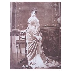 Photogravure by Gebbie & Co from a painting of Gustave De Jonghe