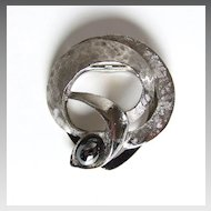 Wonderful Lieba USA Silver Tone Dress Clip