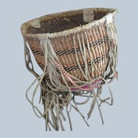 Western Apache Burden Basket (White Mountain) Circa 1920